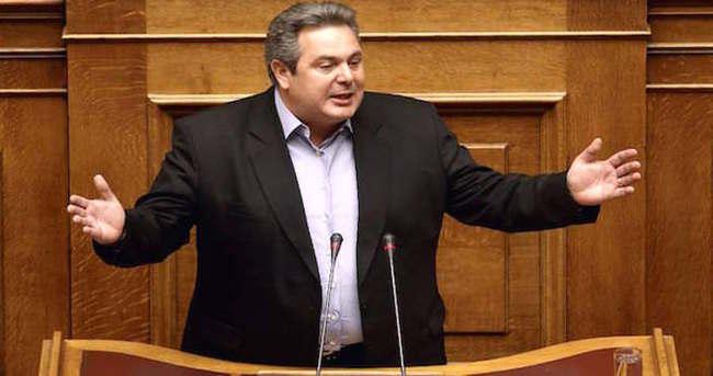 Yunan Bakan sınırı aştı