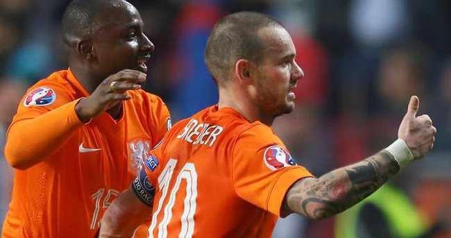 UEFA'dan Sneijder'e büyük övgü