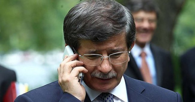 Davutoğlu, Heniyye ile telefonda görüştü