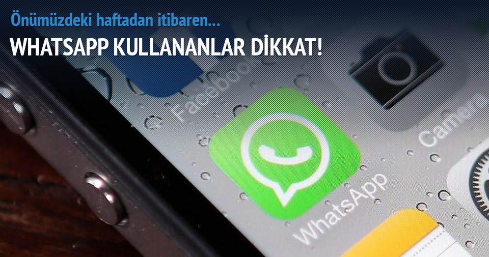 WhatsApp'ın beklenen özelliği haftaya geliyor