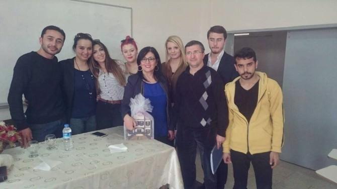 AÜ Elmalı Meslek Yüksekokulu Öğrencilerine Girişimcilik Semineri