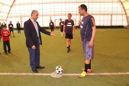 Arsuz'da 35 Yaş Üstü Futbol Turnuvası Başladı