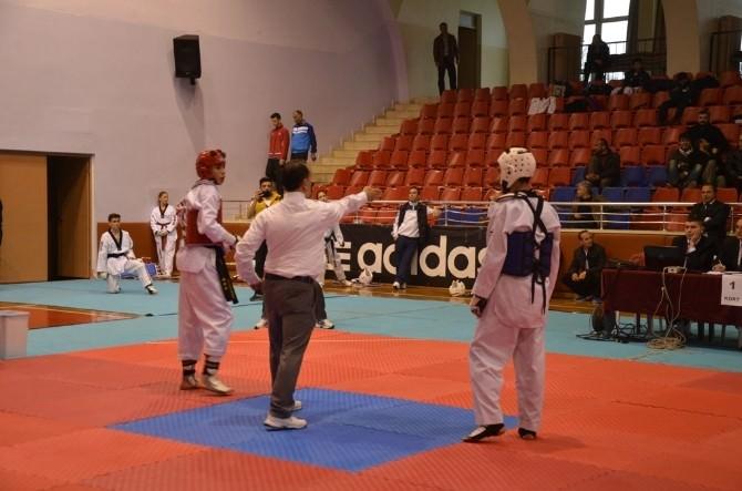Taekwondo Gençler Türkiye Grup Birincileri Aydın'da Belirlendi
