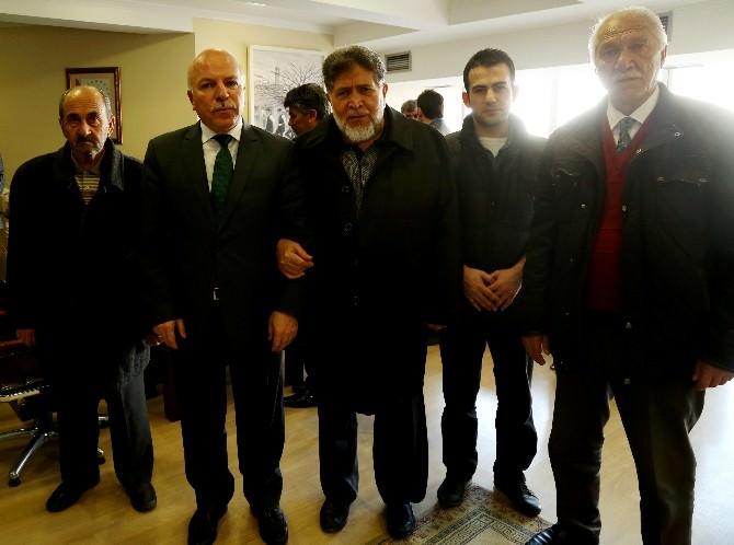 Başkan Sekmen'e, Kayakyolu Sakinlerinden Teşekkür Ziyareti