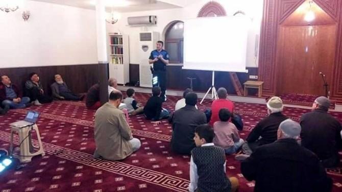 Mudanya Polisinden Camide Toplantı