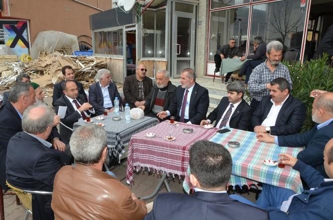 Başkan Üzülmez Acısu'da Vatandaşlarla Bir Araya Geldi