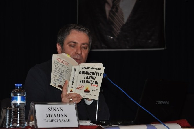 Tarihçi Yazar Sinan Meydan, Çanakkale Ve Atatürk'ü Anlattı