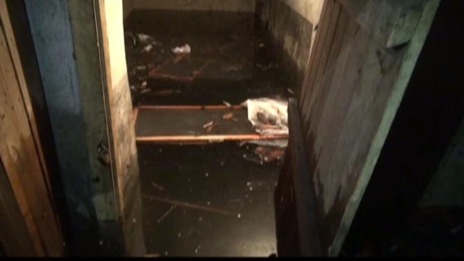 Yağmurla Coşan Kernek Suyu Şeker Evleri'ni Tehdit Ediyor