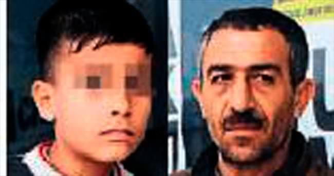 Çocuğu dilendiren Suriyeli gözaltında
