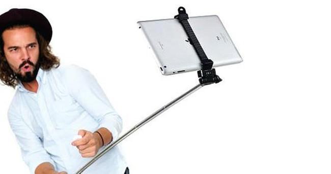 iPad için selfie çubuğu üretildi