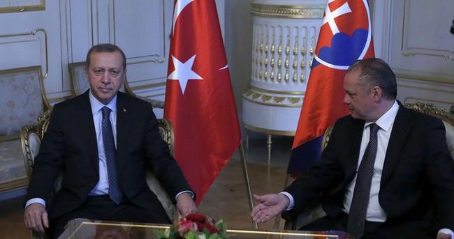 Erdoğan ve Kiska ortak basın toplantısı düzenledi