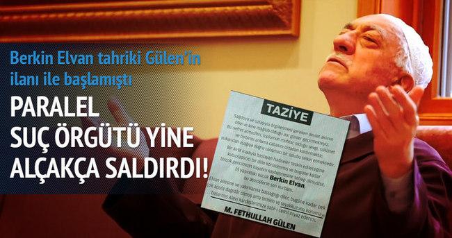 Berkin Elvan tahriki Gülen'in ilanı ile başlamıştı