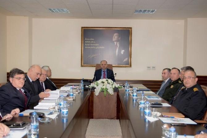 Mersin'de Seçim Güvenliği Toplantısı Yapıldı