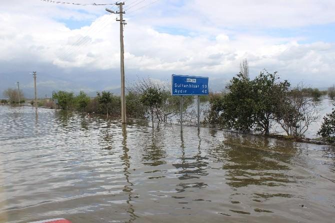 Aydın Ovası'nda Yaşanan Taşkınlara Aşırı Yağışlar Sebep Oldu