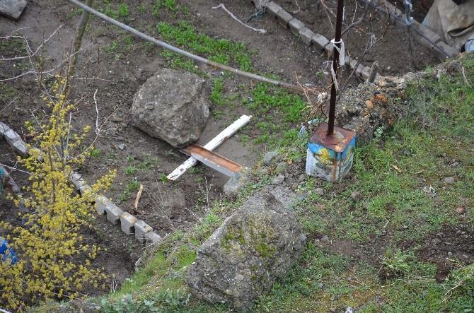 İskilip'te Faciayı Ağaçlar Önledi