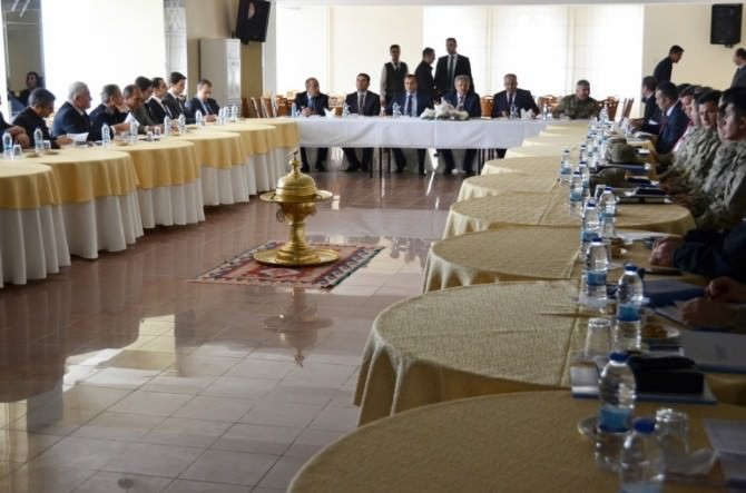 Erzincan'da Seçim Güvenliği Toplantısı Gerçekleştirildi