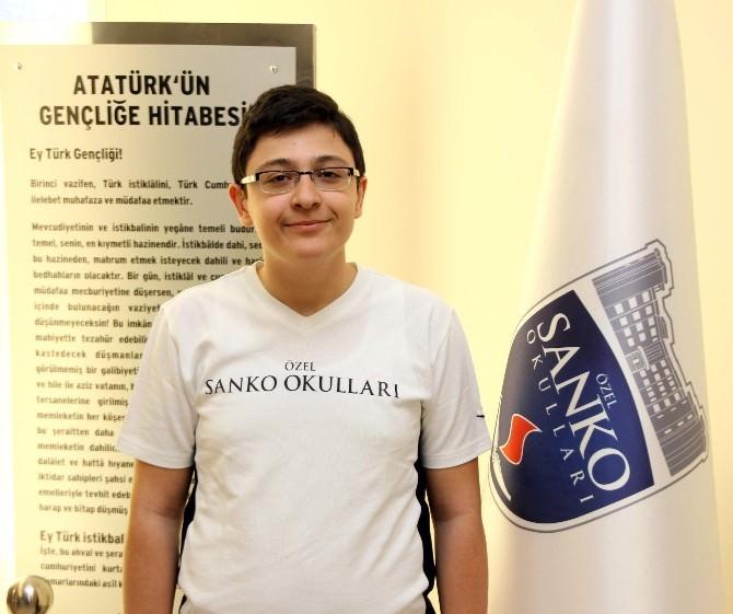 Coğrafya Olimpiyatları'nda Sanko Koleji Başarısı