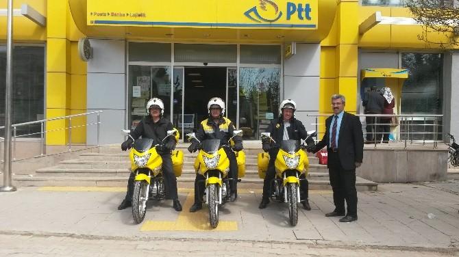 PTT Yeni Motosikletleriyle Şimdi Daha Güçlü