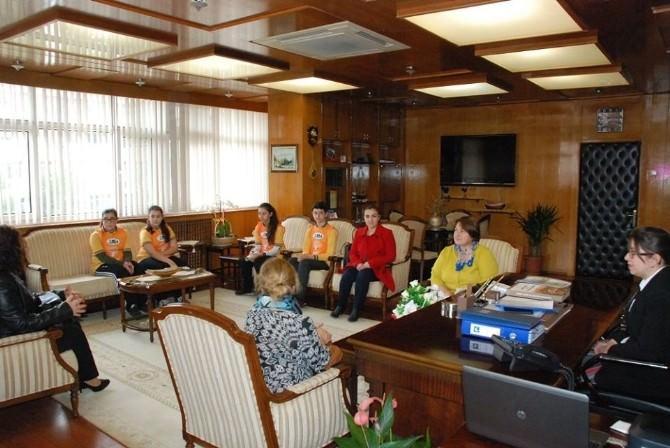 TEMA Gönüllülerinden Vali Çetinkaya'ya Ziyaret