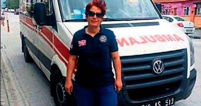 Ödülü de kaptı ambulansı da