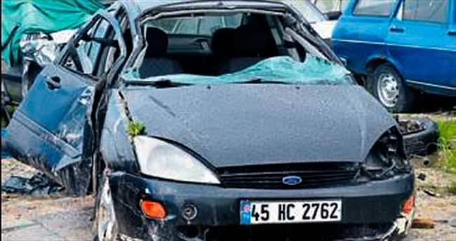 Akhisar'da trafik kazası: 1 ölü