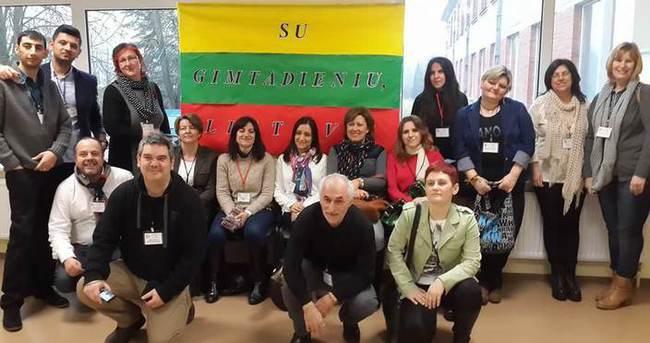 Türk eğitimcileri Erasmus projesine katıldı