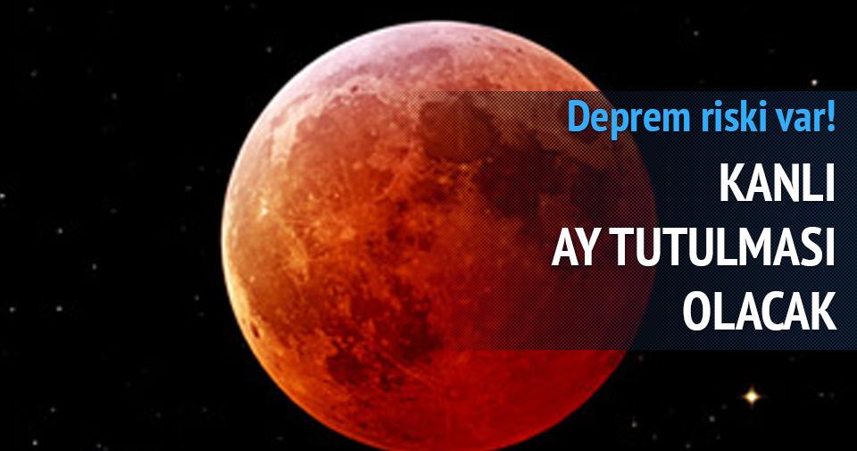 4 Nisan'da Kanlı Ay Tutulması gerçekleşecek