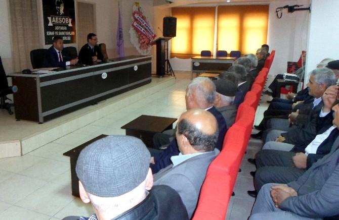 Polis, Şehiriçi Minibüs Kooperatif Başkanlarıyla Toplantı Yaptı