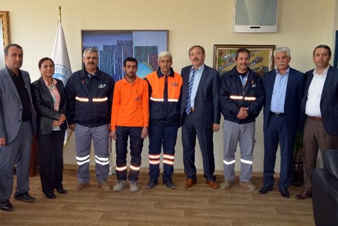 Akdeniz Belediyesi'nde Ayın Personeli Ödülü