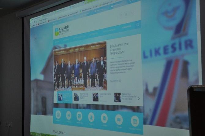 Balıkesir Büyükşehir Belediyesi Web Sitesi Yenilendi