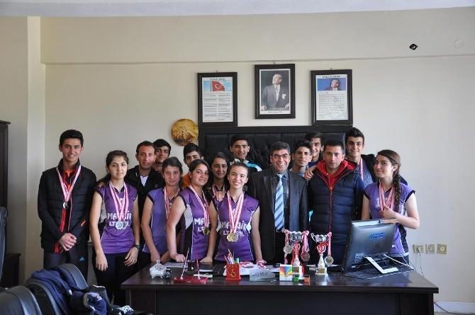 Bir Başarı Da Viranşehir Anadolu Lisesi'nden