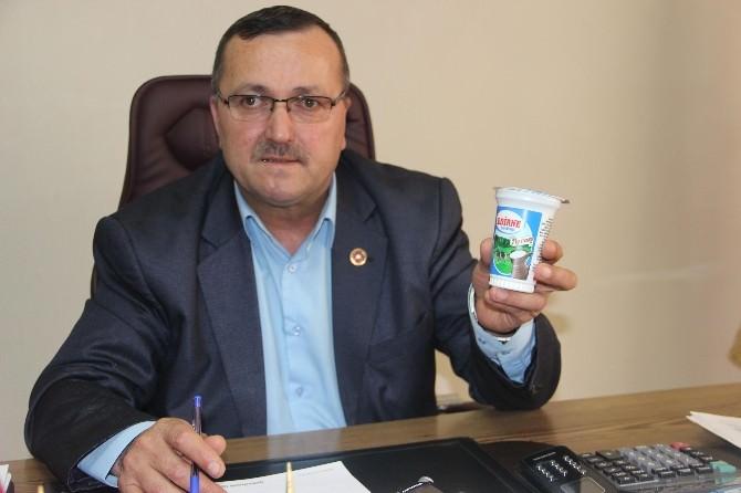 'Edirne Süt Birliği Ayranı' Piyasada