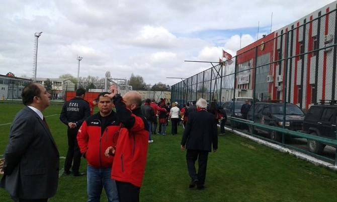 Dak Ekibi Eskişehirspor'u Ziyaret Etti