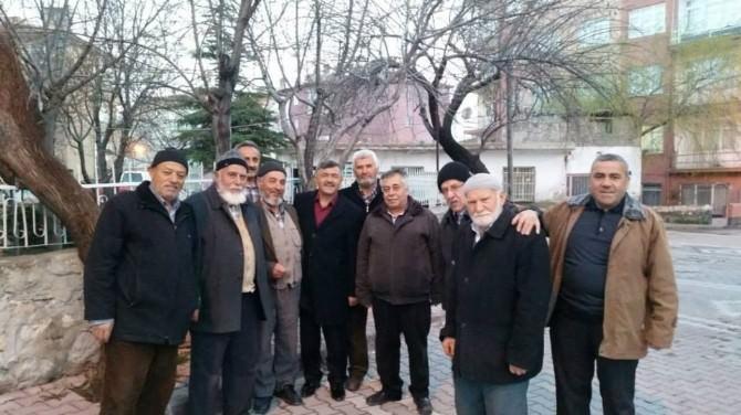 Başkan Akdoğan, Esnafları Ziyaret Etti