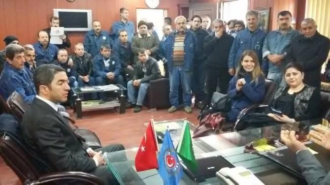 CHP'den Şeker İş Sendikasına Ziyaret