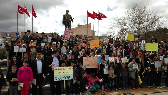 Kırıkkale'de Kütüphane Haftası Kutlamaları