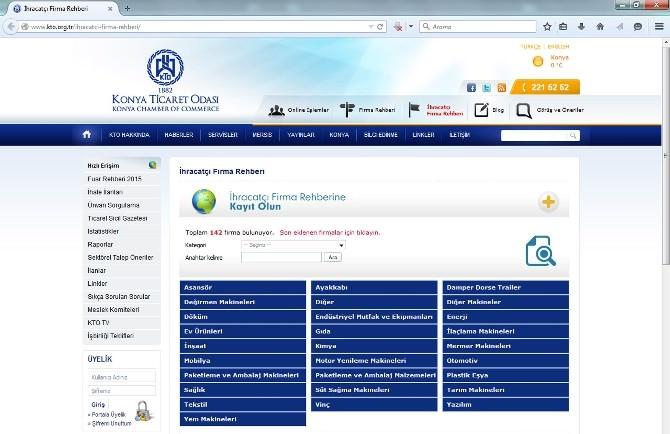 KTO İhracatçı Üyelerini Firma Rehberiyle Dünyayla Buluşturacak