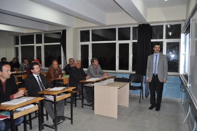 Korkuteli'de Milli Eğitim Personeline Osmanlıca Kursu