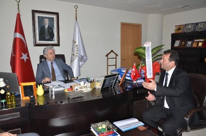 Manisa Baro Başkanı Ali Arslan: Camiamıza Başsağlığı Diliyoruz