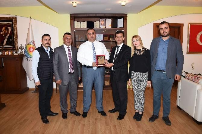 Tasiad Ve Aktif Gençlik Federasyonu'ndan Başkan Can'a Ziyaret
