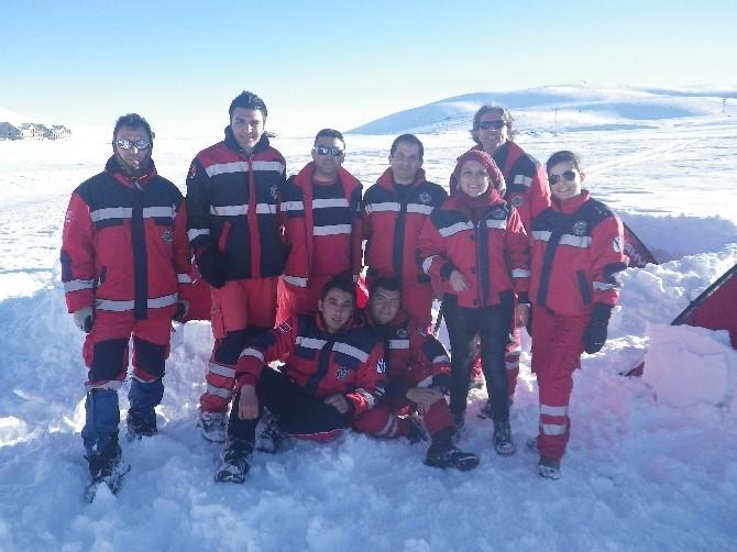 Nevşehir UMKE Ekibi Kış Arama-kurtarma Tatbikatına Katıldı