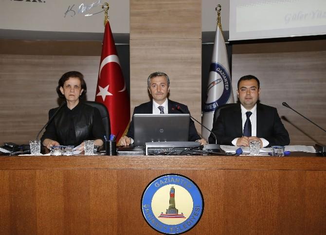 Şahinbey Belediyesi Nisan Ayı Meclis Toplantısı Yapıldı