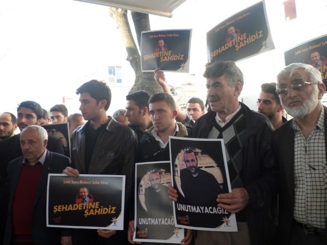 Silahlı Saldırı Sonucu Şehit Olan Savcı Mehmet Selim Kiraz İçin Sakarya'da Gıyabi Cenaze Namazı Kılındı