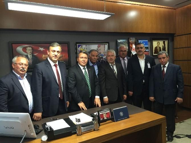 Sulama Birlikleri'nden Milletvekili Üstün'e Ziyaret