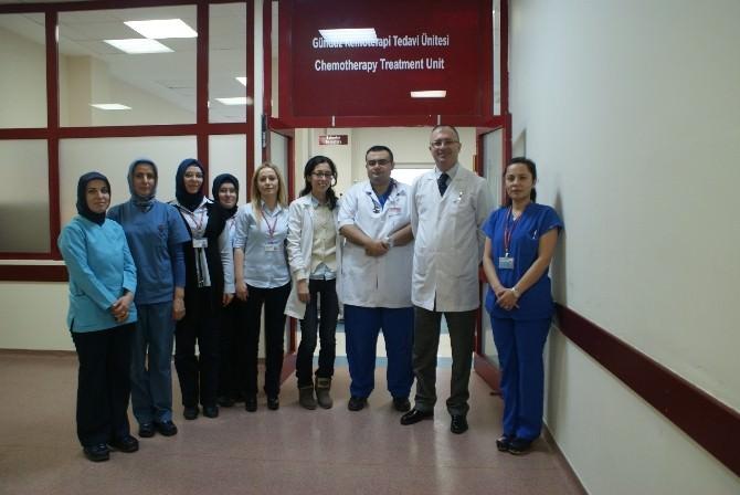Tıbbi Onkoloji Gündüz Kemoterapi Tedavi Ünitesi Yenilendi