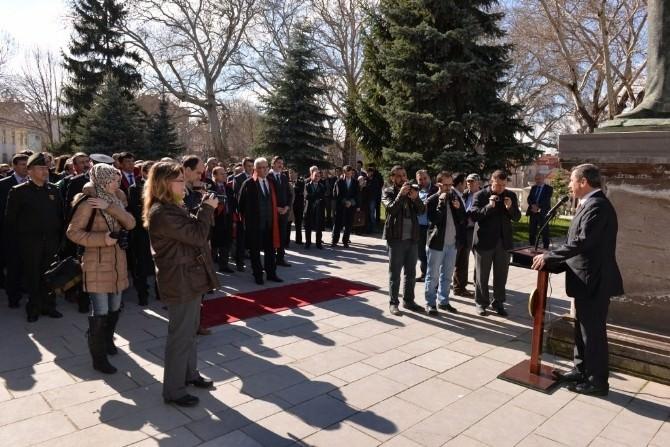 Vali'den Kütahya Cumhuriyet Başsavcılığı'na Taziye Ziyareti