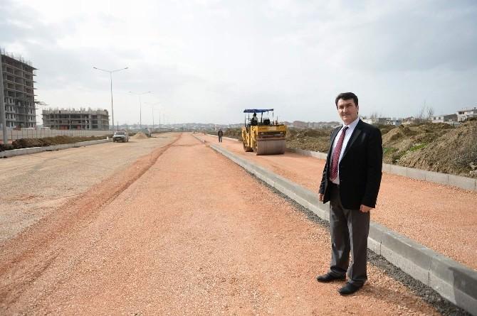 Yunuseli'nde 40 Metrelik Bulvar Açılış İçin Gün Sayıyor