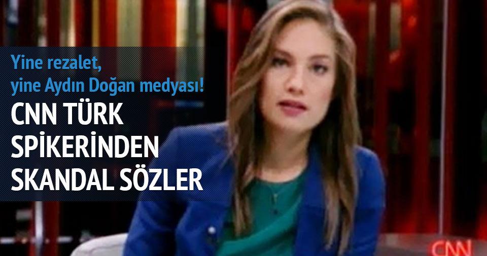CNN Türk spikeri Nevşin Mengü'den skandal sözler