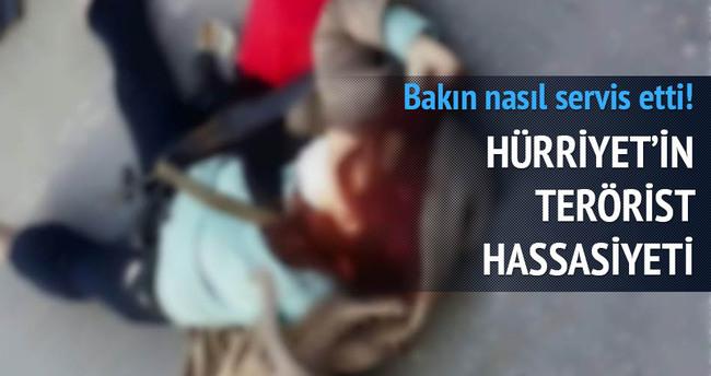 Hürriyet Şehit Savcıya yapmadığını kadın teröriste yaptı