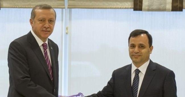 Erdoğan'dan AYM Başkanı Arslan'a ziyaret